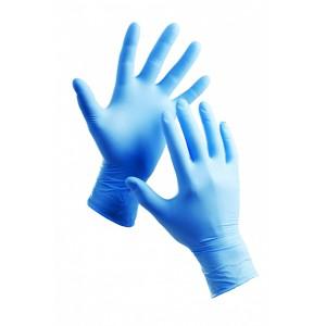 Перчатки одноразовые припудренные