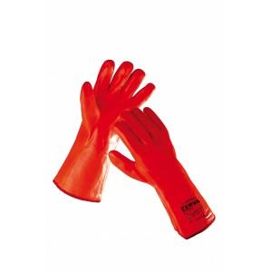 Перчатки химически стойкие утепленные