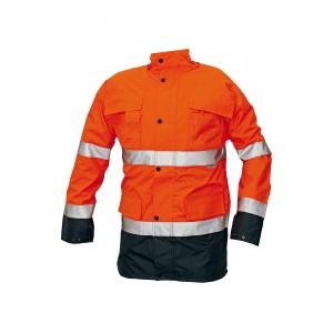 Сигнальная куртка утепленная