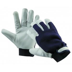 Утепленные комбинированные перчатки