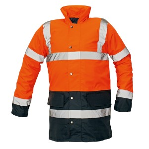 Сигнальная утепленная куртка