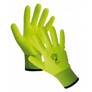 Перчатки покрытые утепленные