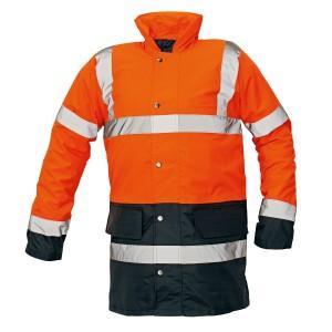 Сигнальна утеплена куртка